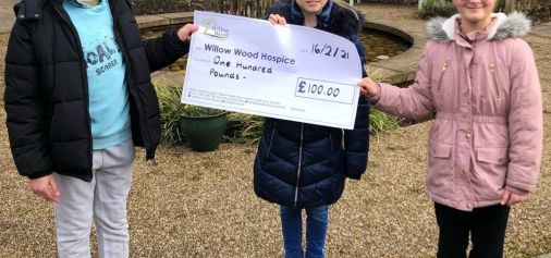 Children Donate Pocket Money to Willow...