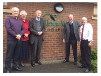 Founder Chairman Visits Willow Wood