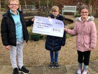 Children Donate Pocket Money to Willow Wood