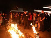 The Firewalk - socially distanced fundraising