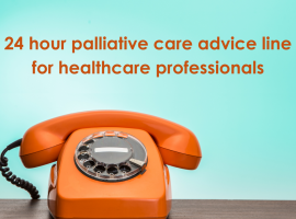 24 hour advice line for healthcare professionals
